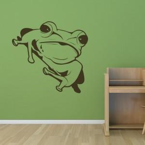 autocollant grenouille