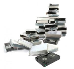 cassettes video